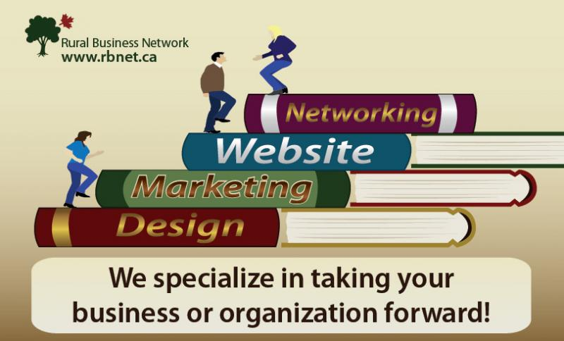 RBN prvides business networking, website services, design and marketing